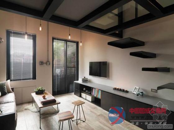 台北23平轻工业单身公寓-筑龙新闻-室内