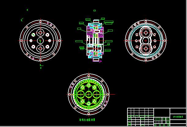 RV-E,C,N各型号减速机图纸