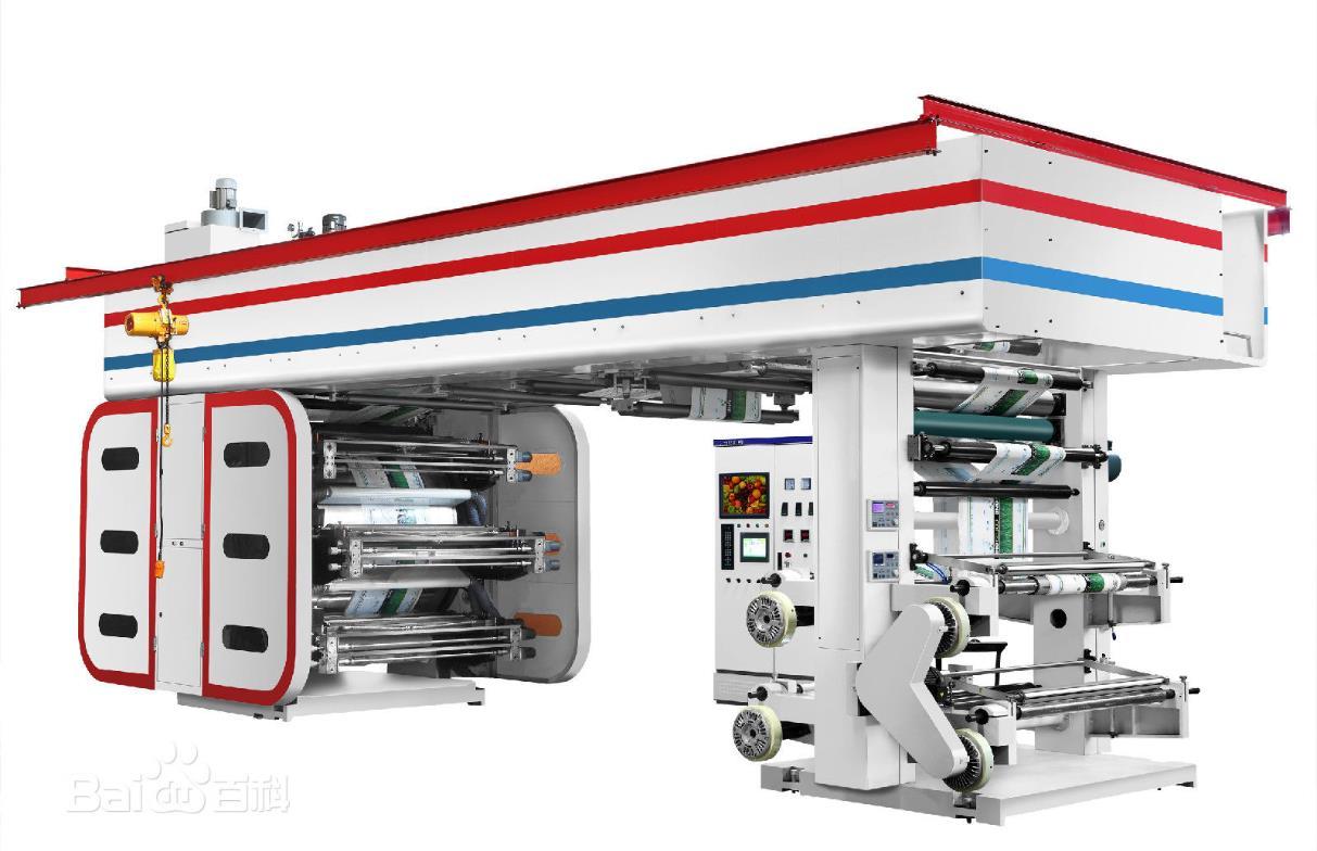 卫星式柔版印刷机全套图纸