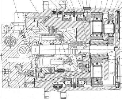 力士乐减速机原装图纸,力士乐减速机图纸,工程机械行星减速机图纸