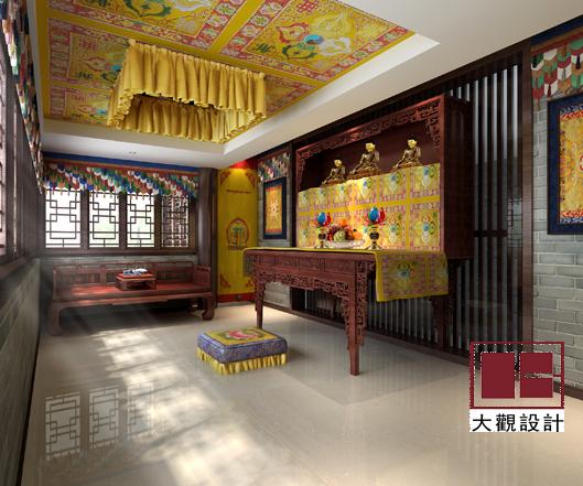 中国图纸交易网 图纸下载 建筑设计  藏式佛堂设计 图纸摘要:藏式佛堂
