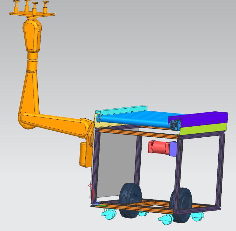 移栽型AGV小车